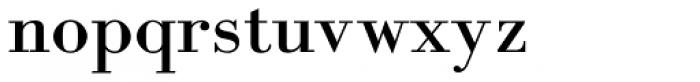 Academia MF Font LOWERCASE