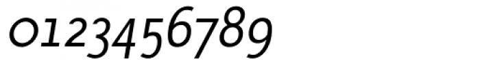 AcademiaTLight Italic Font OTHER CHARS