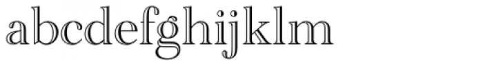 Academy Engraved Std Font LOWERCASE