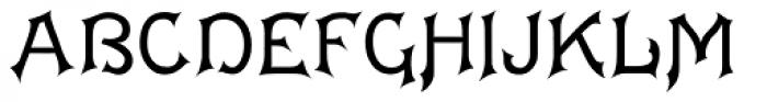 Acantha Font UPPERCASE