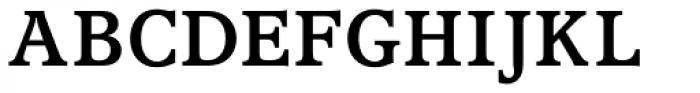 Accolade Medium Font UPPERCASE