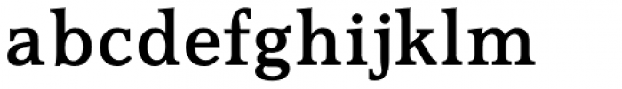 Accolade Medium Font LOWERCASE