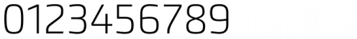 Accura UltraLight Font OTHER CHARS