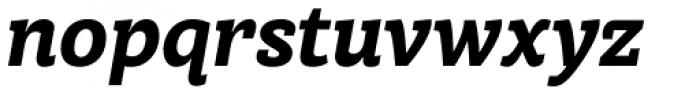 Achille II FY Black Italic Font LOWERCASE
