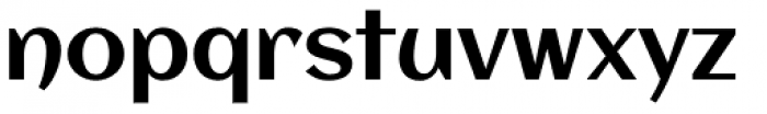 Aclonica Pro Font LOWERCASE