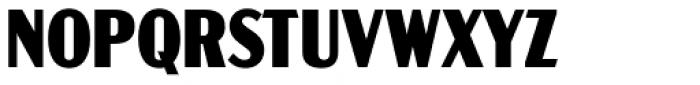 Acme Gothic Condensed Black Font UPPERCASE