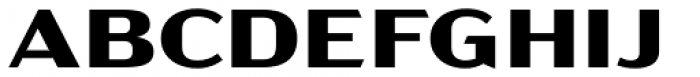 Acme Gothic Extrawide Bold Font UPPERCASE