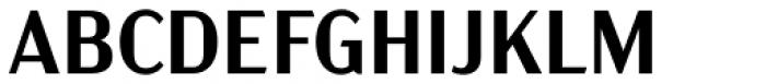 Acme Gothic Semibold Font UPPERCASE