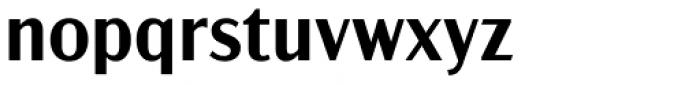 Acme Gothic Semibold Font LOWERCASE