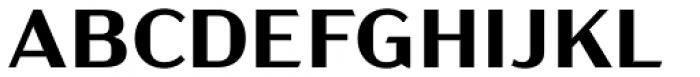 Acme Gothic Wide Semibold Font UPPERCASE