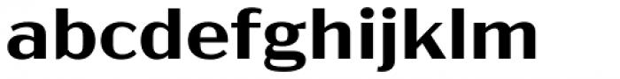 Acme Gothic Wide Semibold Font LOWERCASE