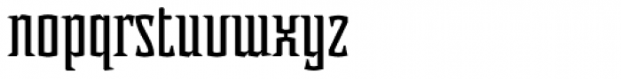 Acolyte Font LOWERCASE