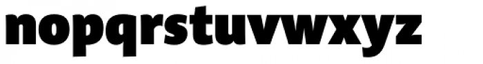 Acorde ExtraBlack Font LOWERCASE