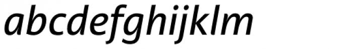 Acorde Medium Italic Font LOWERCASE