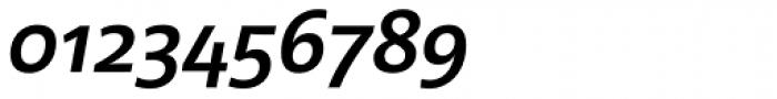 Acorde SemiBold Italic Font OTHER CHARS