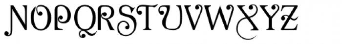 AcornSwash Font UPPERCASE