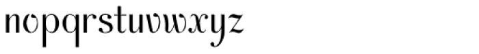AcornSwash Font LOWERCASE