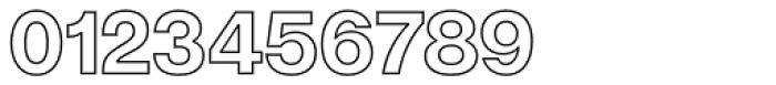 Acronym Outline Regular Font OTHER CHARS