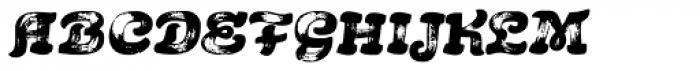 Acrylic Brush Font LOWERCASE