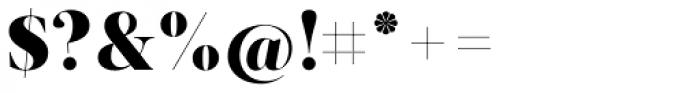 Acta Display Black Font OTHER CHARS
