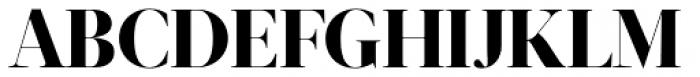 Acta Display ExtraBold Font UPPERCASE