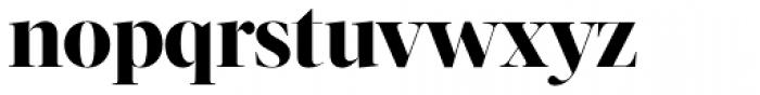 Acta Display ExtraBold Font LOWERCASE