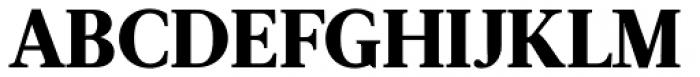Acta ExtraBold Font UPPERCASE