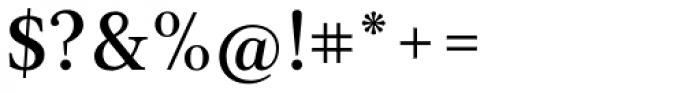 Acta Medium Font OTHER CHARS
