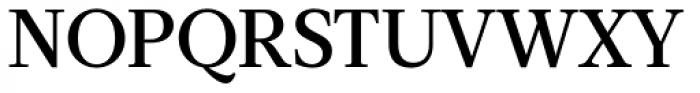 Acta Medium Font UPPERCASE