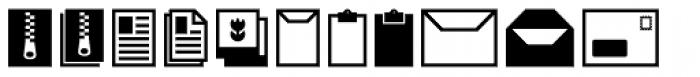 Acta Symbols Office Font UPPERCASE