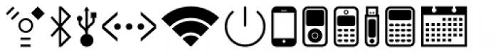 Acta Symbols Office Font LOWERCASE