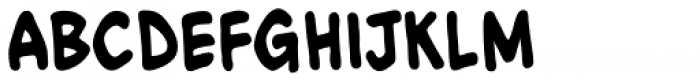 Action Figure BB Bold Font LOWERCASE