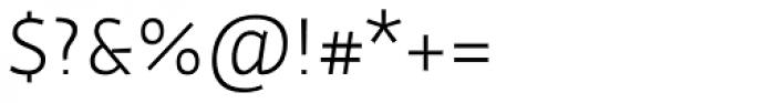 Actium Light Font OTHER CHARS