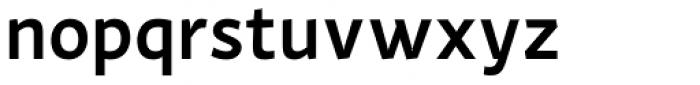Actium SemiBold Font LOWERCASE