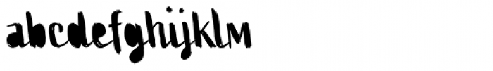 Active Two Fill Font LOWERCASE