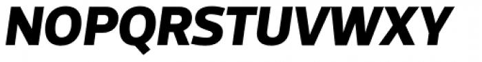 Acto ExtraBold Italic Font UPPERCASE