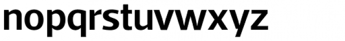 Acto SemiBold Font LOWERCASE