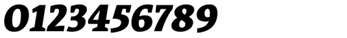 Acuta Black Italic Font OTHER CHARS