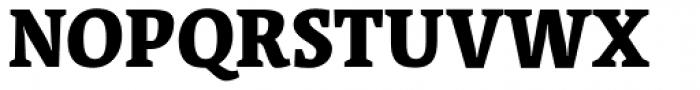 Acuta Black Font UPPERCASE