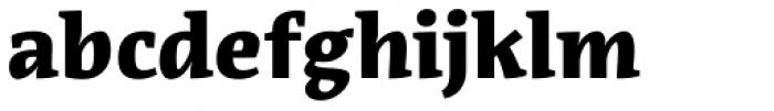 Acuta Black Font LOWERCASE
