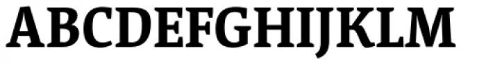 Acuta Bold Font UPPERCASE