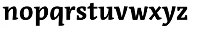 Acuta Bold Font LOWERCASE