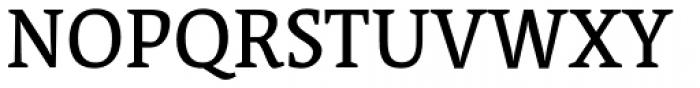 Acuta Book Font UPPERCASE