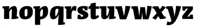 Acuta Fat Font LOWERCASE