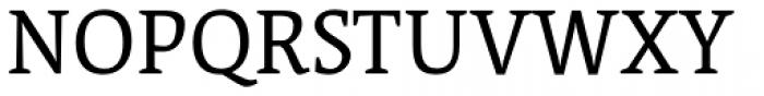 Acuta Light Font UPPERCASE