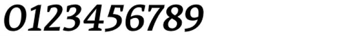 Acuta Medium Italic Font OTHER CHARS