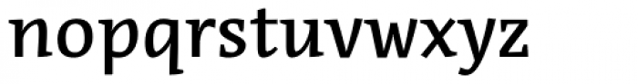Acuta Medium Font LOWERCASE