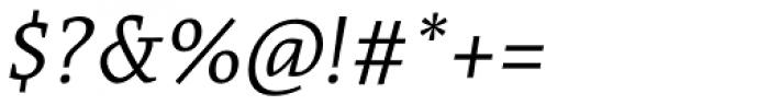 Acuta Thin Italic Font OTHER CHARS