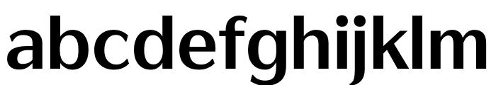 AR FangXinShuH7B5Std HV Font LOWERCASE
