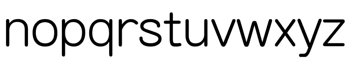 AR YuanGBStd MD Font LOWERCASE